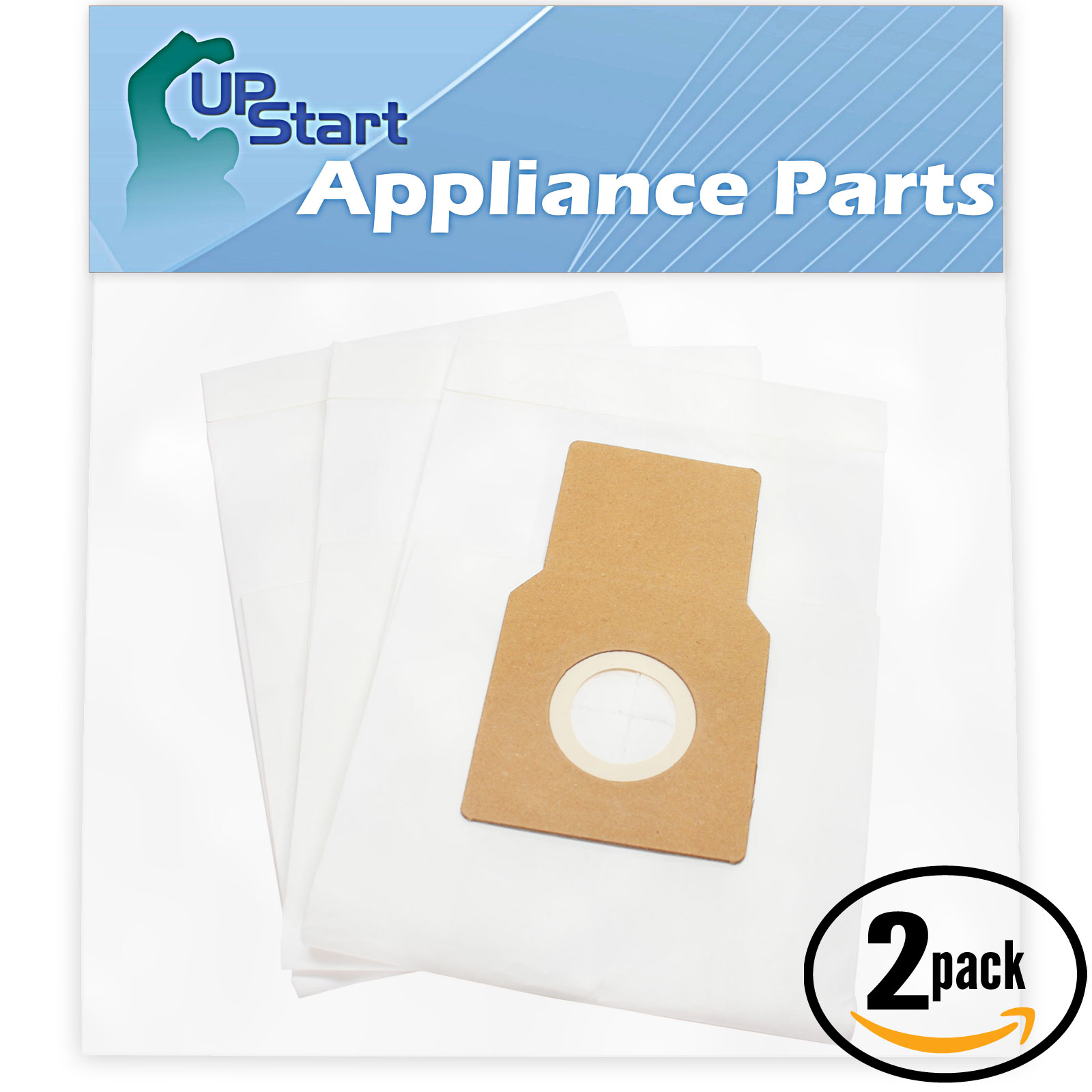 6 Replacement Kenmore 20-50690 Vacuum Bags  - Compatible Kenmore 50688, 50690, Type O, Type U Vacuum Bags (2-Pack, 3 Bags Per Pack)
