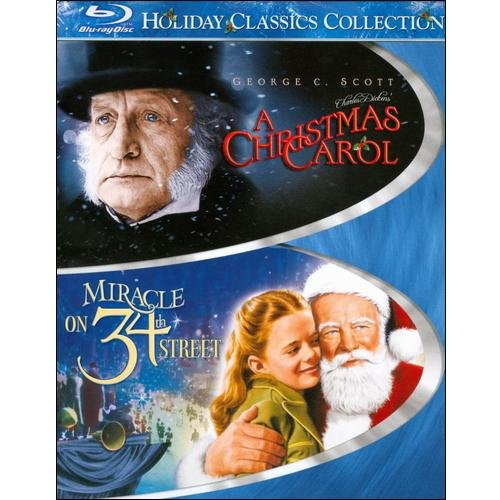 Holiday Classics Collection: A Christmas Carol (1984) / Miracle On 34th Street (1947) (Blu-ray) (Full Frame)