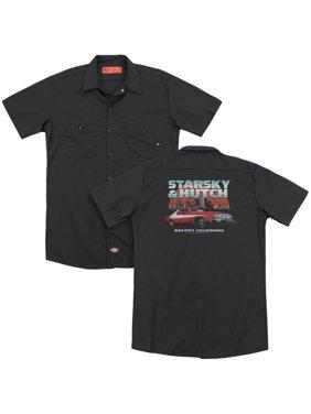 Starsky And Hutch - Bay City (Back Print) - Work Shirt - XXX-Large