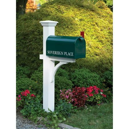 Lazy Hill Farm Designs Sovereign Mailbox Post, Cedar Lazy Hill Farm