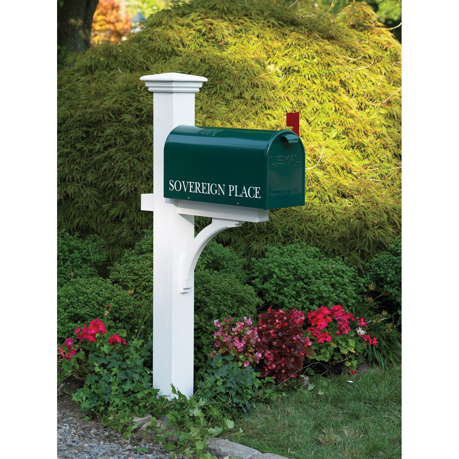 Lazy Hill Sovereign Mailbox Post