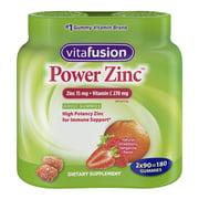 Vitafusion Power Zinc Gummy Twin Pack, 180 ct.
