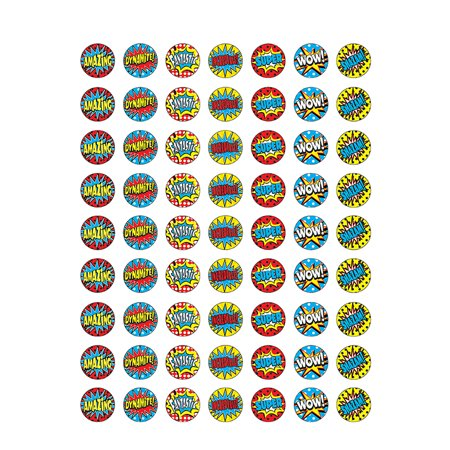 SUPERHERO MINI STICKERS - Super Hero Stickers