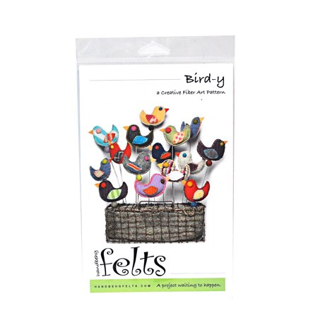 Felt Art (Handbeng Felts Bird-y Creative Fiber Art Pattern )
