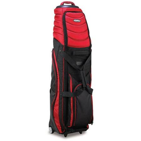 Bag Boy Bag Boy T-2000 Pivot Grip Whl Travel Golf Bag Cover R/Blk