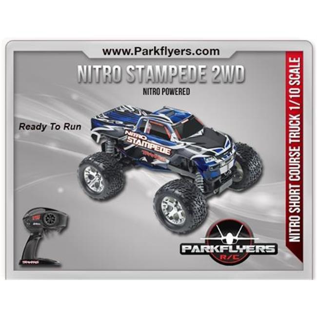 ParkFlyers 41096-3 Traxxas 1-10 Nitro Stampede RTR