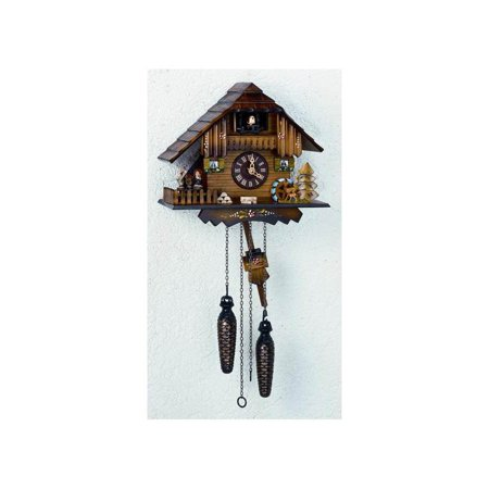 Cuckoo Clock 1 Day Chalet - Black Forest Musical Cuckoo Clock