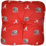 "NCAA Alabama Tide Floor Pillow, 24"" x 24"" x 3"", Crimson"