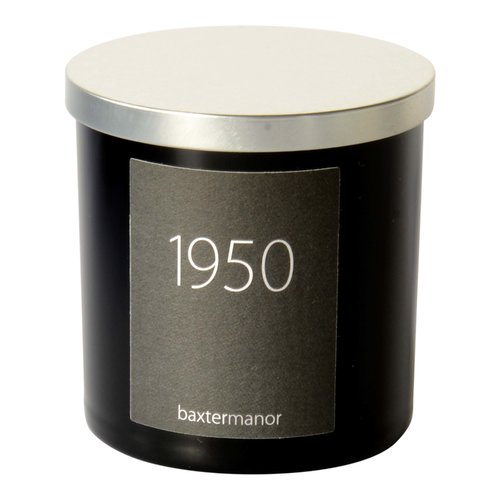 Baxter Manor #OurHistoryCollection 1950 Scented Designer Candle