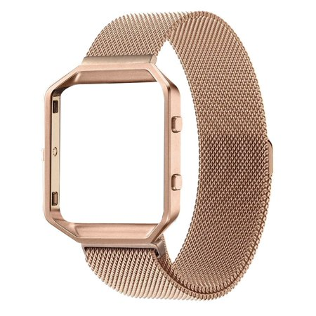 Element Works Wrist Fitbit Blaze band : Milanese Loop Stainless ...