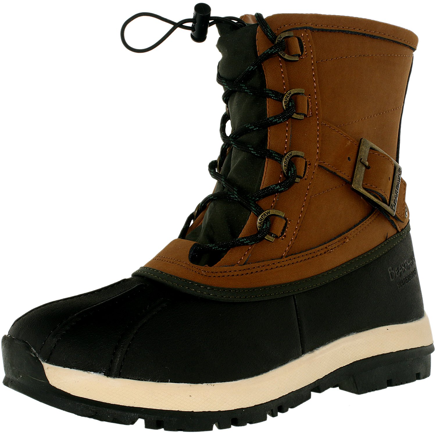 Bearpaw Women's Nelly Hickory Ii Ankle-High Leather Boot - 8M