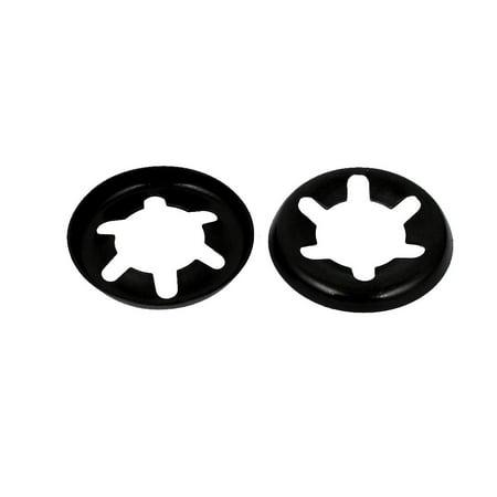 12mmx25mmx3mm 65Mn acier rondelles blocage Starlock Attache Vitesse 100Pcs - image 2 de 2