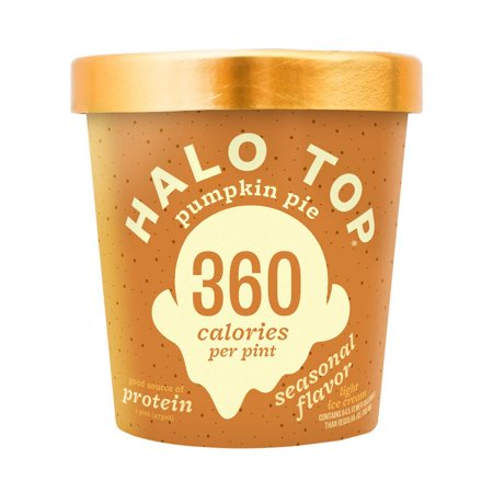 Halo Top, Pumpkin Pie Ice Cream, Pint (8 Count)