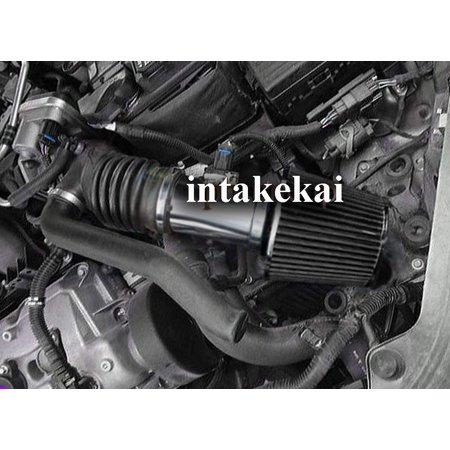 2006 2007 2008 2009 FORD FUSION 3.0 3.0L V6 ENGINE AIR INTAKE KIT SYSTEMS (BLACK) 2008 Ford Fusion Accessories