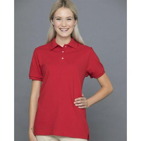 JERZEES - Women's 100% Ringspun Cotton Pique Sport Shirt -