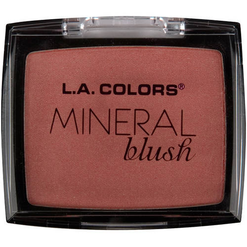 (2 Pack) L.A. Colors Mineral Blush, Dusty Rose, 0.15 oz