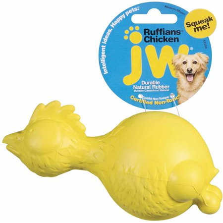 Petmate Doskocil Co. Inc. Ruffians Chicken Dog Toy](Rubber Chicken Racing)