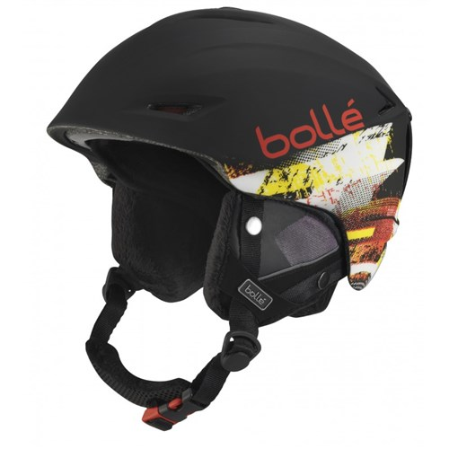 *Bolle Helmets 30979 Soft Black and Red 61-63cm Sharp by Bolle