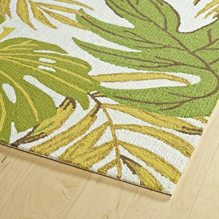 Handmade Collection (Kaleen Rugs Sea Isle Collection SEA09-50 Green Handmade 2' x 3' Rug)