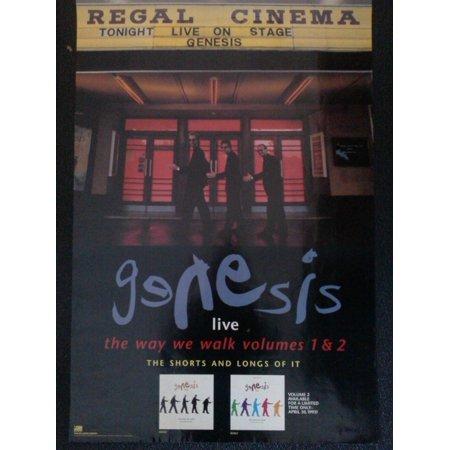 Genesis Live The Way We Walk Volumes 1 & 2 Poster