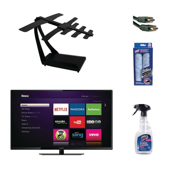 Proscan Plded4030a-e-rk 40 Smart Tv With, Naxa Naa-309, Axis 41202, Endust Clea