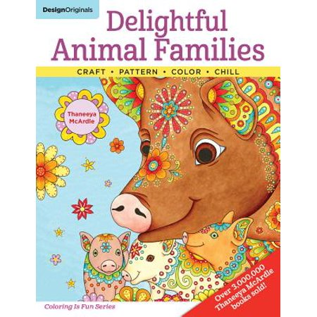 Delightful Animal Families : Craft, Pattern, Color, Chill - Family Halloween Activities Dallas