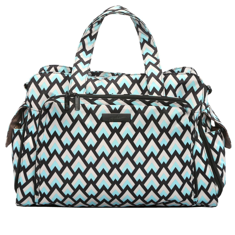 Be Prepared Diaper Bag - Black Diamond