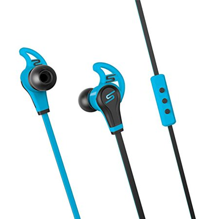SMS Audio SMS-EB-SPRT-BLU STREET by 50 In-Ear Wired Sport- Blue