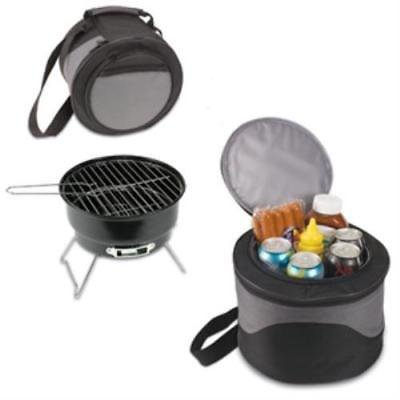 Fire And Ice Grill - Picnic Time 771-00-175-000-0 Caliente Portable Grill