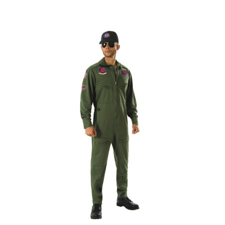 Top Gun Adult Deluxe Halloween Costume - Gsn Halloween