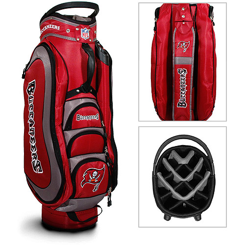 Team Golf NFL Tampa Bay Bucs Medalist Golf Cart Bag