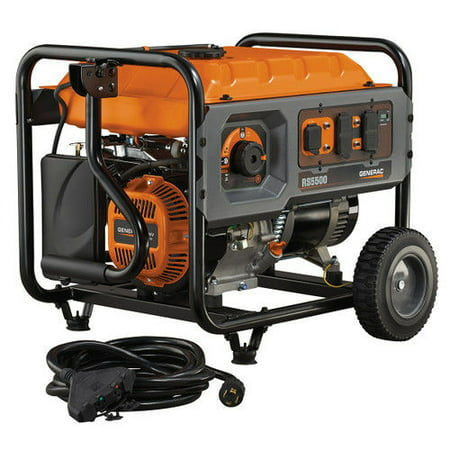 Generac 6672 5,500 Watt Portable Generator with (Honda Generator 500 Watt Price In India)