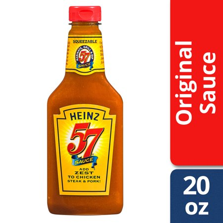 Heinz 57 Sauce 20 oz Bottle (Spicy Steak Sauce)