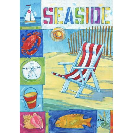 "Seaside Beach Summer Garden Flag 12.5"" x 18"""