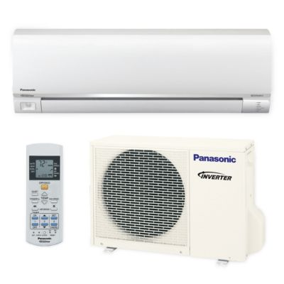 Panasonic� E9RKUA - 9,000 BTU 23 SEER EXTERioS E Wall Mount Ductless Mini Split Air Conditioner Heat Pump 208-230V