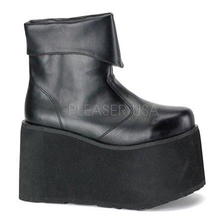 Boot Monster Black Men Lg - Monster Boots