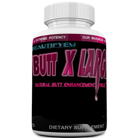 BUTT X-LARGE V-2 Butt Enlargement, Booty Enhancement. Butt enhancer Pills. (Not a Butt (Best Booty Enhancement Pills)