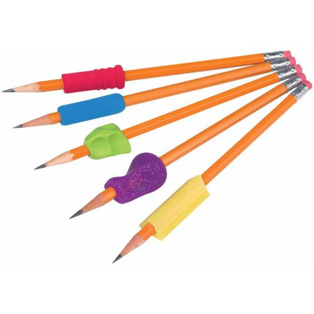The Pencil Grip, Mixed Grip Package, Assorted Shapes and Colors, -