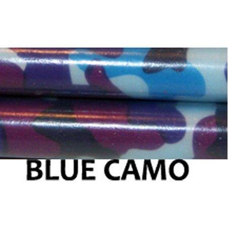 Z-Stix Made to Order Handmade Juggling Sticks-Flower Sticks-Devil Sticks (Kids 18'',Blue - Juggling Supplies