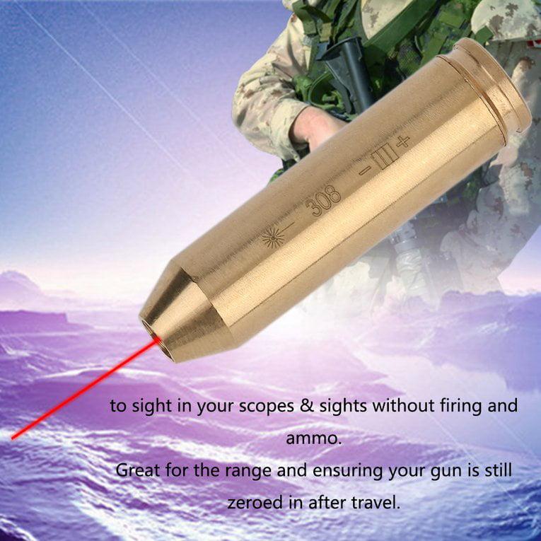 Laser Bore Sight Bore Sighter CAL Line Level Hunting Kit Multi Caliber