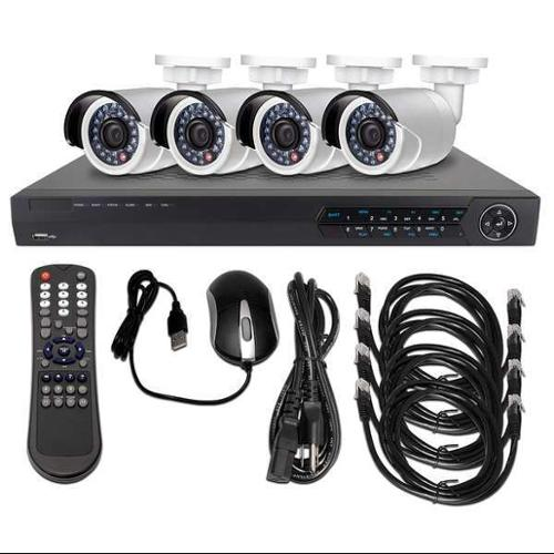 LTS LTN0882K-4B CCTV Kit, All In One, 12VDC, 1 TB