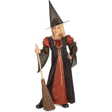 Girl's Glitter Witch Costume Rubies 881122 - Witches Costume Ideas