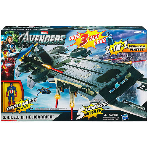Avengers Shield Flying Fortress Play Set