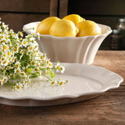 The Pioneer Woman Paige Serving Bowl and Serving Platter, Stoneware