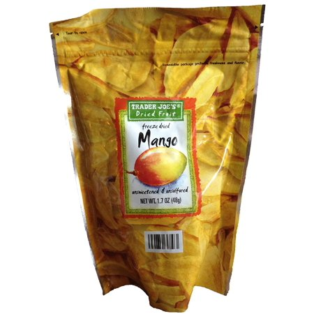 Trader Joe's Freeze Dried Mango Unsweetened & Unsulfured