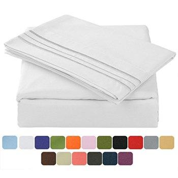 4-Pc. TasteLife 105 GSM Deep Pocket Bed Sheet Set
