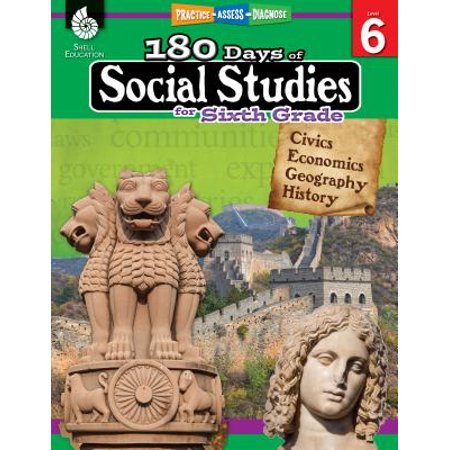 180 Days of Social Studies for Sixth Grade (Grade 6) : Practice, Assess, Diagnose](Halloween Art 6th Grade)