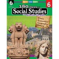 180 Days of Social Studies for Sixth Grade (Grade 6) : Practice, Assess, Diagnose