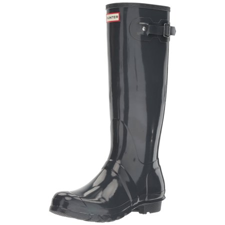 Hunter WFT1000RGL-DSL: Womens Original Tall Dark Slate Rain Boot - Hunter Boots Child