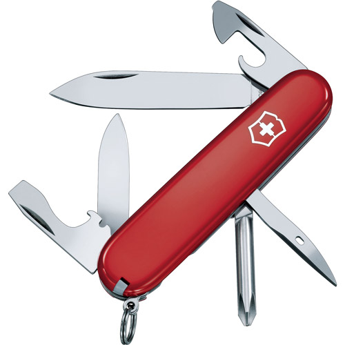 Victorinox Swiss Army Tinker Knife, Red